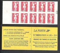 Carnet Marianne De Briat  YT N° 2630 C1 Livraison Gratuite - Freimarke