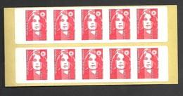 Carnet Marianne De Briat  YT N° 2807 C1 Livraison Gratuite - Freimarke