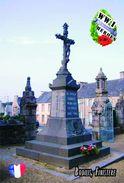 Carte Postale, Militaria, Monuments, World War I Monuments, France (Finistère), Bodilis - Monuments Aux Morts