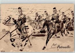 52133970 - Auf Patrouille - Ulan - Pferd - PFB - Weltkrieg 1914-18