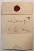HESEL 1842 Brief > Oldenburg (Hannover Ldr Aurich Ostfriesland Altdeutschland Vorphilatelie Vorphila - Hanover
