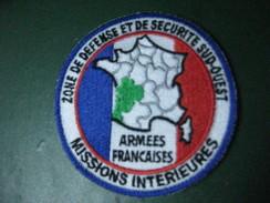 Ecusson Zone De Défense Et De Securité Sud-est Missions Interieures & - Ecussons Tissu