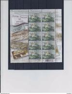 Belgie -Belgique 4257 Velletje Van 10 Postfris - Feuillet De 10 Timbres Neufs - Zeilschip Zenobe Gramme - Temsifil 2012 - Feuilles Complètes