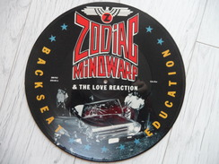 Picture Disc Maxi Zodiac Mindwarp And The Love Reaction Backseat Education 1987 - 45 Rpm - Maxi-Singles