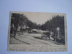 Almelo (Ov.) Wierdensche Straat (leuk Geanimeerd) Gelopen 1901 - Almelo