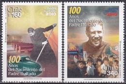 Chile 2001 Persönlichkeiten Religion Christentum Wohlfahrt Pater Padre Hurtago Cruchaga, Mi. 2001-2 ** - Chile