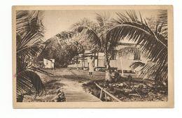 AMERIQUE ET OCEANIE . VILLAGE DE LEPREUX A MAKOGAR - Cartes Postales
