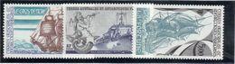 """M2 - TAAF PO135/137**. Bateaux """" Le Gros Ventre"""" - """"Jules Verne"""" - """" La Fortune"""" - Tierras Australes Y Antárticas Francesas (TAAF)"""