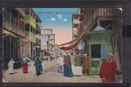 C27  /     Port Said / Typen - Ansichtskarten
