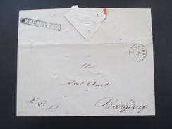 Vorphila 1831 Desinfektionspost Stempel Geräuchert Cholera Epidemie. Räucherkasten! Landdrostei Lüneburg K2 Lüneburg - ...-1849 Vorphilatelie