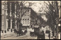 128- NICE .- Avenue De La Victoire Et L'Eglise Notre-Dame - Nice