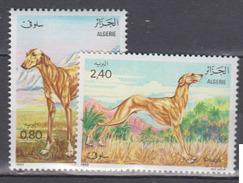 ALGERIE     1983     Faune      N . 798 / 799       COTE     3 , 25   EUROS       ( S 18 ) - Algérie (1962-...)