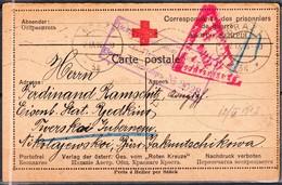 Correspondance Des Prisonniers De Guerre -:- Carte Poste Envoyée De GRAZ Pour NIKOLAEVSKOÏ (Siberie ) - - 1916-19 Occupation: Germany