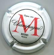 CJ-CAPSULE-CHAMPAGNE MONTAUDON N°06 Blanc Rouge & Noir - Champagnerdeckel