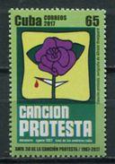 Cuba 2017 / Protest Song MNH Canción Protesta Protestlied / Cu5702  36 - Cuba