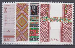 ALGERIE     1985         N . 854 / 857       COTE     7 , 75   EUROS       ( S 23 ) - Algérie (1962-...)