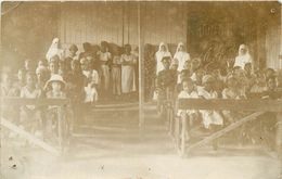 DUALA - école Des Filles En 1927 (carte Photo) - Cameroon