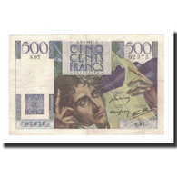 France, 500 Francs, 1947-01-9, KM:129a, TTB+, Fayette:34.7 - 1871-1952 Circulated During XXth