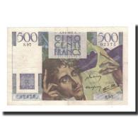 France, 500 Francs, 1947-01-9, KM:129a, TTB+, Fayette:34.7 - 1871-1952 Gedurende De XXste In Omloop
