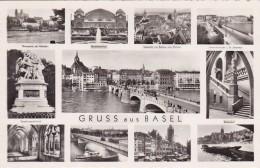 Gruss Aus Basel - 11 Bilder * 14. VI. 1954 - BS Bâle-Ville