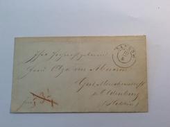 DASSOW (Mecklenburg-Schwerin) Brief > Olga Von Abercron Gut Meischenstorf Holstein(Wangels Altdeutschland Vorphilatelie - Mecklenburg-Schwerin