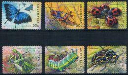 Australie - Insectes Et Papillons 2155/2160 Oblit. - Insectes