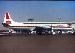 Aviation Postcard-355 PSA PACIFIC SOUTHWEST  L-188 Electra - 1946-....: Moderne