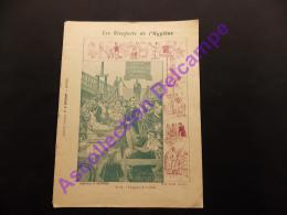 Protege Couvre Cahier Les Bienfaits De L Hygiène N13 L Hygiène De L Enfant. Collection C Charier Lib E Brosset Moulins. - H