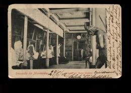 B5344 RECUERDO DE MONTEVIDEO - INTERIOR MUSEO NACIONAL - Uruguay
