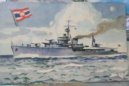 Siam Warship Tahchin - Thailand