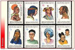 Rwanda 0408/15**  Coiffes II  MNH - Rwanda