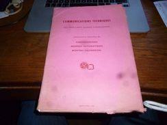 Communications Techniques Fabricants Suisses D'horlogerie 1965 Ebauches S.a. Farde De Documents - Unclassified
