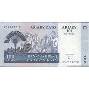 TWN - MADAGASCAR 86c - 100 Francs 2004 C XXXXXXX D UNC - Madagascar