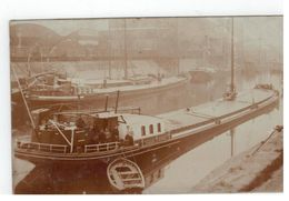 "Baasrode - Baesrode Schip ""PHARAILDA"" Van B.WILLAERT Te Emmerik Duitsland 1912 Fotokaart - Dendermonde"