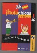 HOLA CHICOS 7 à 12 ANS INITIATION A L'ESPAGNOL - COLL HELLO KIDS - MULTIMEDIA CD - PC-Games
