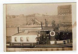 "Baasrode - Baesrode Schip ""PHARAILDA"" Van B.WILLAERT  Fotokaart - Dendermonde"