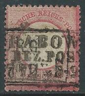 1872 GERMANIA REICH IMPERO USATO PICCOLO SCUDO SULL'AQUILA 1 G - R47-5 - Germania