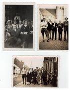 Ekeren 1936   3 Foto's 8,5x6cm - Antwerpen