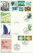 UNO Wien 13 FDC - Nr. 1-22 Kpl. Sammlung 1979-1981 - FDC