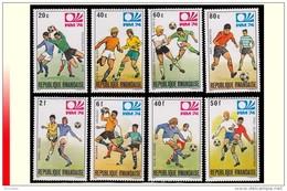 Rwanda 0578/85** Coupe Du Monde De Football Munich  MNH - Rwanda