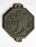 Médaille Ancienne Sport Ski ULLR Tyrol Schutzpatron Aller Wintersport - Sports D'hiver