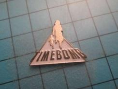 Pin710d Pin's Pins : BEAU ET RARE : CINEMA FILM TIME BOMB  , Marquage Au Dos : - --- - - Films
