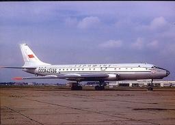 Aviation Postcard-366 AEROFLOT Tu-104 - 1946-....: Moderne