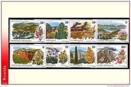 Rwanda 0682/89**  Nature MNHH - Rwanda