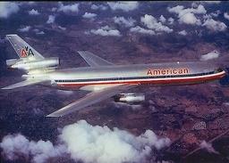 Aviation Postcard-370 AMERICAN AIRLINES Douglas DC-10 - 1946-....: Moderne