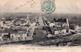 B43571 Aigues Mortes, Perspective Du Canal - Unclassified