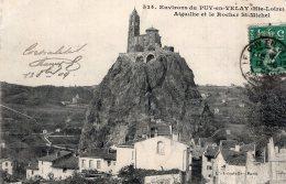 B43602 Aiguilhe Et Le Rocher St Michel - France
