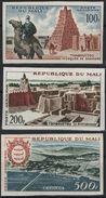 MALI Poste Aérienne  12 à 14 ** MNH Non Dentelé Imperforated Tombouctou Bamako Dromadaire Mosquée - Albert Schweitzer