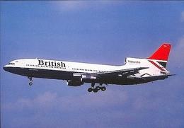 Aviation Postcard-382 British Airways L-1011 Tristar - 1946-....: Moderne