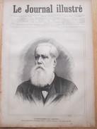 Gravure 1887  L Empereur Du BRESIL     DOM PEDRO II  De  Alcantara  Brasilia Sao Paulo Portrait - Alte Papiere